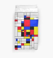 Alaska, Mondrian Style Duvet Cover