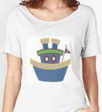 Kids Tugboat Women's Relaxed Fit T-Shirt