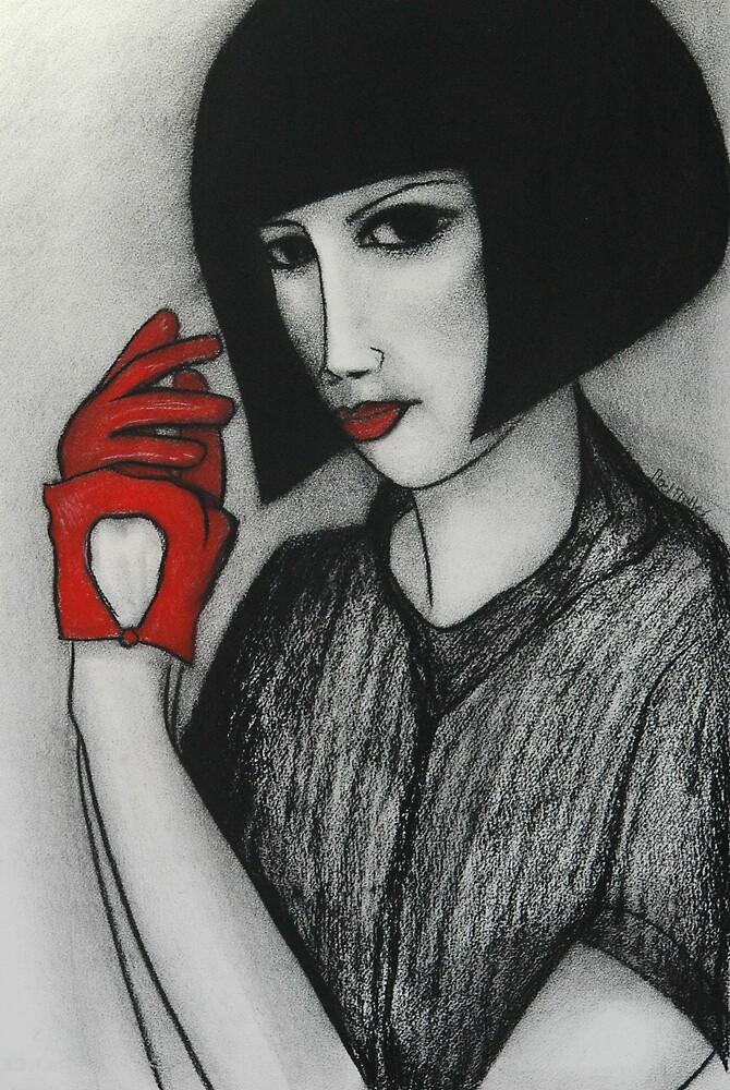 Red Gloves by Noel Miller