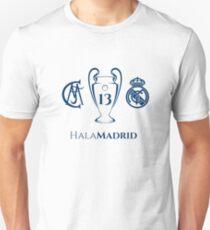 Real Madrid 13 Champions League Unisex T-Shirt