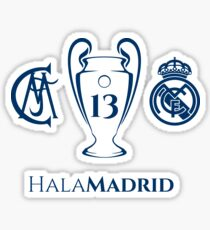 Real Madrid 13 Champions League Sticker