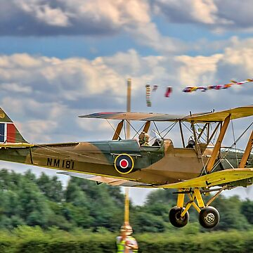De Havilland DH82A Tiger Moth 1 NM181 G-AZGZ by oscar533