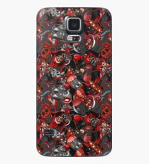 Punk Gothic pattern style Case/Skin for Samsung Galaxy