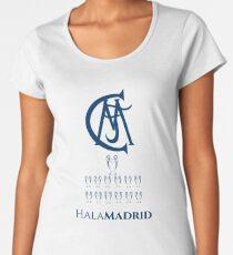 Real Madrid 13 Champions League Women's Premium T-Shirt