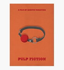 Pulp Fiction Alternative Poster - Marsellus Wallace by Popate Photographic Print