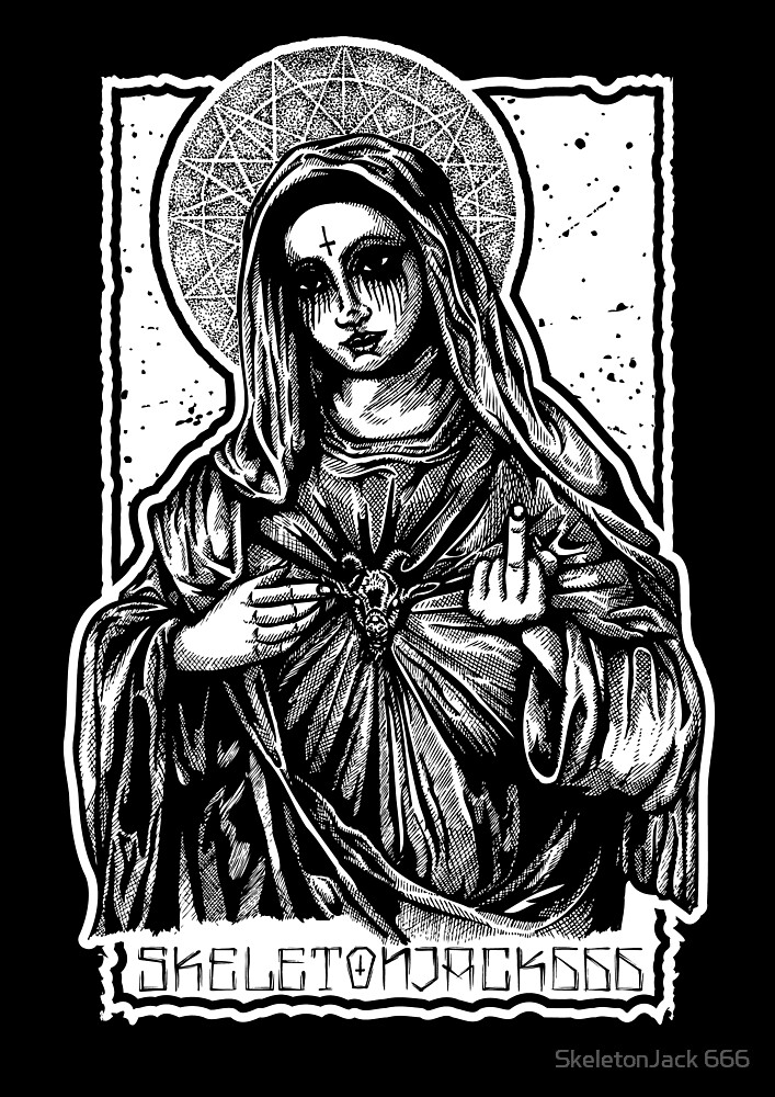 Mother Mary by SJ-Graphics