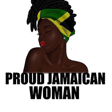 Proud Jamaican Afro Woman Rasta  by dukito