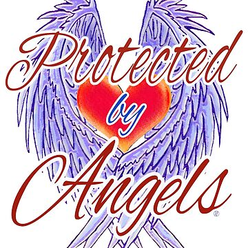 Protected by Angels - red version by FEDVAL