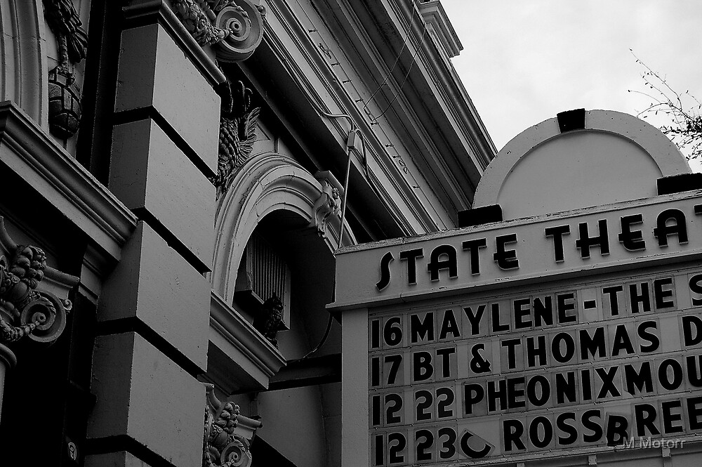 State Theatre by M Motorr
