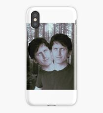 Two Headed Todd Howard iPhone Case