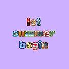 let summer begin! by poupoune
