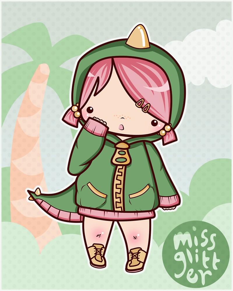 Miss Dino by MissGlitter