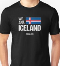 We Are Iceland World Cup Russia 2018 Unisex T-Shirt