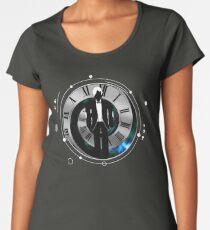 Matt Smith - the 11th Doctor - full circle Women's Premium T-Shirt