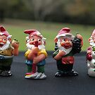 Four Gnomes by Bev Pascoe
