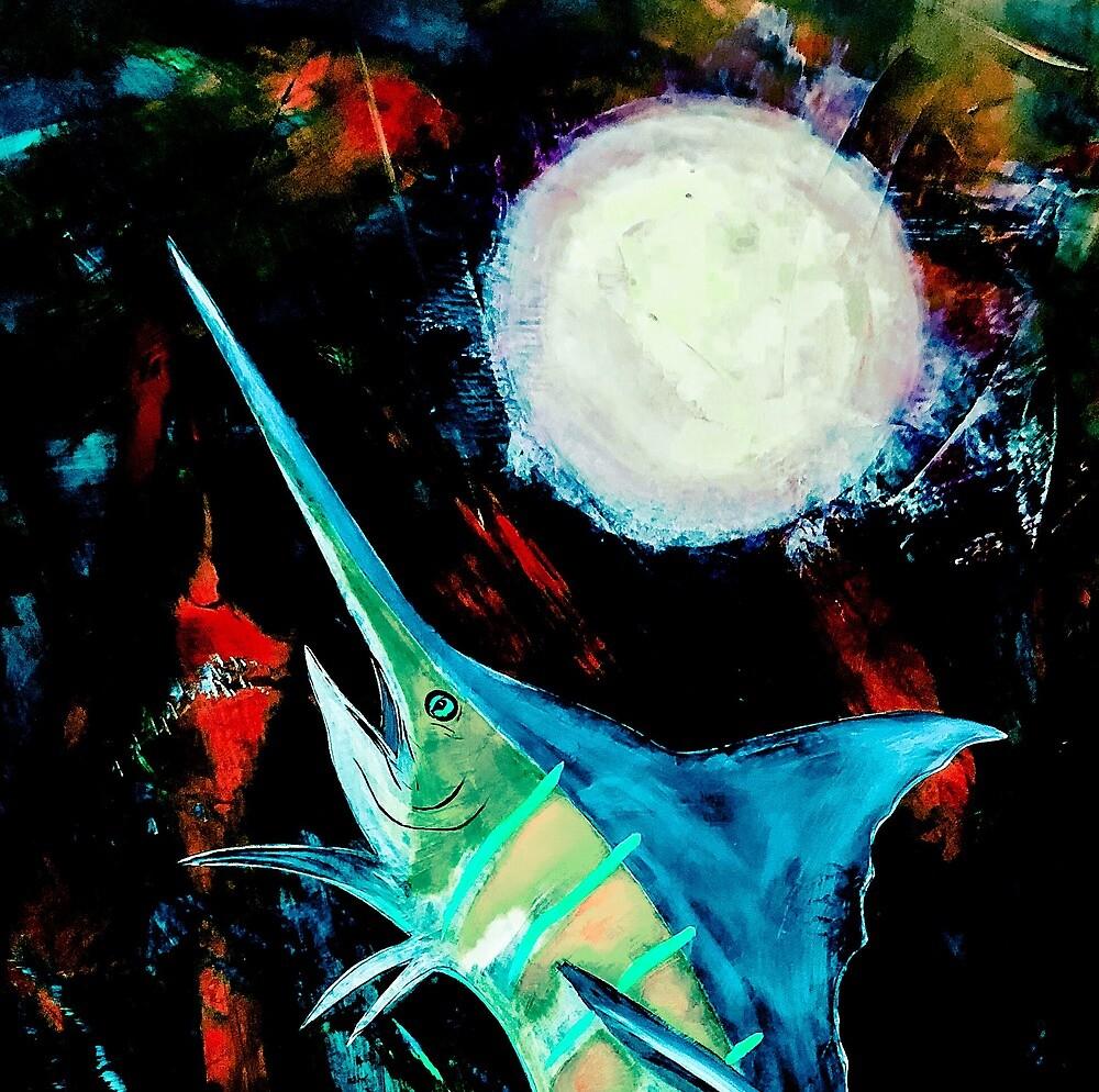 Blue Marlin  by barryknauff