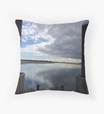 Port Stanley Tasmania Throw Pillow