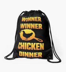 Winner Winner Chicken Dinner Drawstring Bag