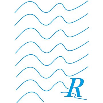 Blue waves and ripple logo by KHaines961
