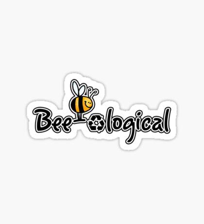 Bee-ological Sticker