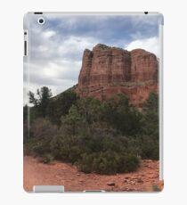 Cliff face outside Sedona iPad Case/Skin