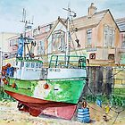 Whitby Fishing boat by Woodie