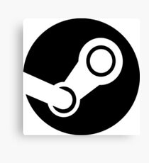 Modern Steam Logo - High Fidelity Canvas Print