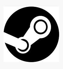Modern Steam Logo - High Fidelity Photographic Print