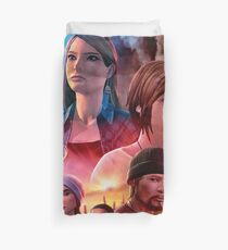 Life is Strange: Before the Storm - Cinematic Movie Poster (No Text) Duvet Cover