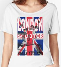 London Scooter Rally Women's Relaxed Fit T-Shirt
