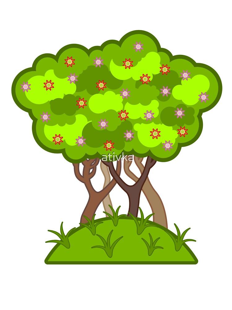 tree by ativka