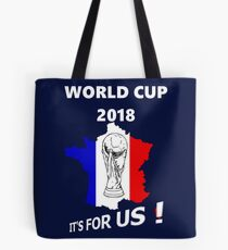2018 World Cup France Soccer Team Russia World Cup Tote Bag
