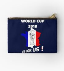 2018 World Cup France Soccer Team Russia World Cup Studio Pouch