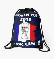 2018 World Cup France Soccer Team Russia World Cup Drawstring Bag