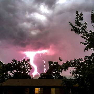 Pink Lightning by dm-photography