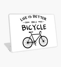 Life's Better On A Bicycle Laptop Skin