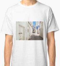 The Back Streets Of Evissa Classic T-Shirt