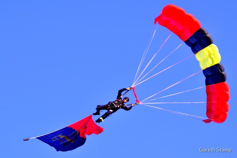 parachute by Gareth Stamp