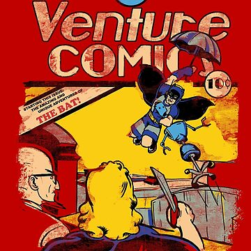Venture Comics: The Bat by JKTees