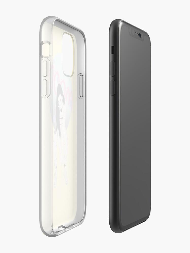 Coque iPhone «Emma Chamberlain Mood FANART VINTAGE TUMBLR T-SHIRT», par mintartstudio