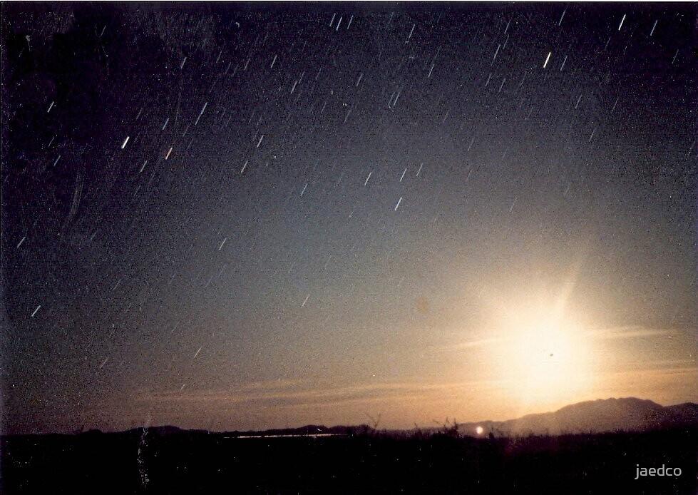 Arizona Sunset with a Twist by jaedco