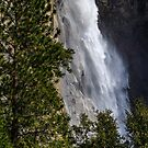 Yosemite, Waterfall along Merced Entrance by photosbyflood