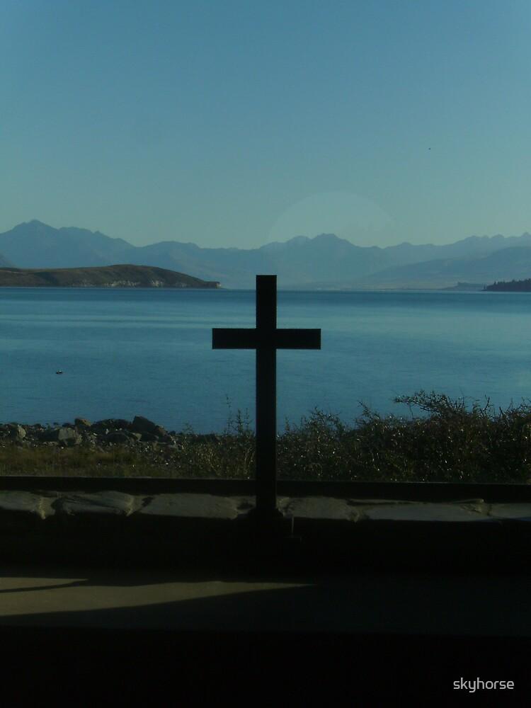 Parishoners View, Church of the Good Shepherd, NZ by skyhorse