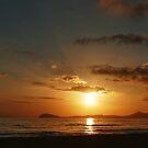 Mediterranean Sunset by JOSEPHMAZZUCCO