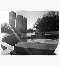 Winnipeg, Osborne Bridge & Assiniboine River Poster