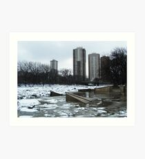 Winnipeg, Assiniboine River, 2015 Art Print