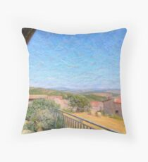 italian afternoon Throw Pillow
