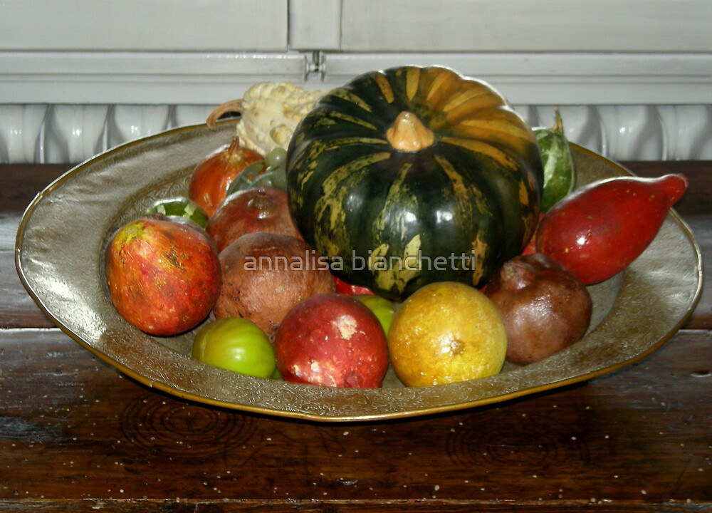 A plate of colors by annalisa bianchetti