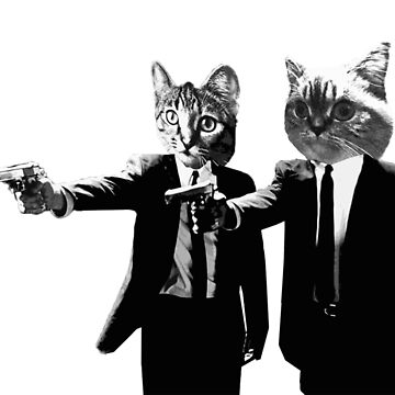 Purr-p Fiction: A Film by Quentin Meowantino by CWspatula