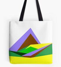 Green Hills, Generative art, Data Visualisation Tote Bag